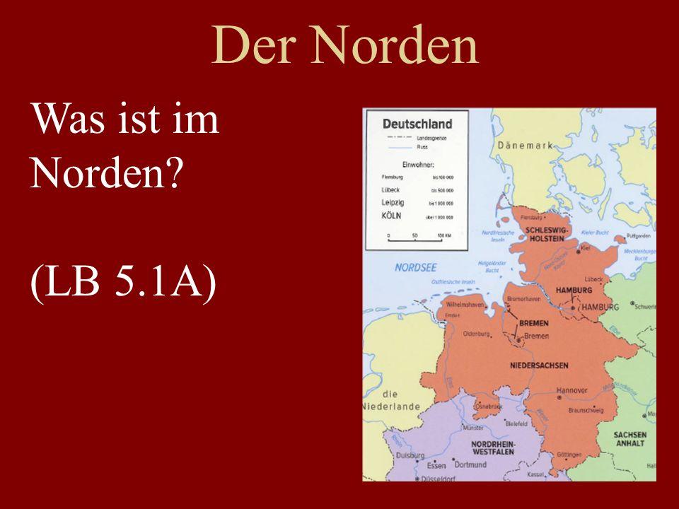 Der Norden Schleswig-Holstein Niedersachsen Hamburg Bremen Oldenburg Hannover Göttigen Nordsee Ostsee Sylt