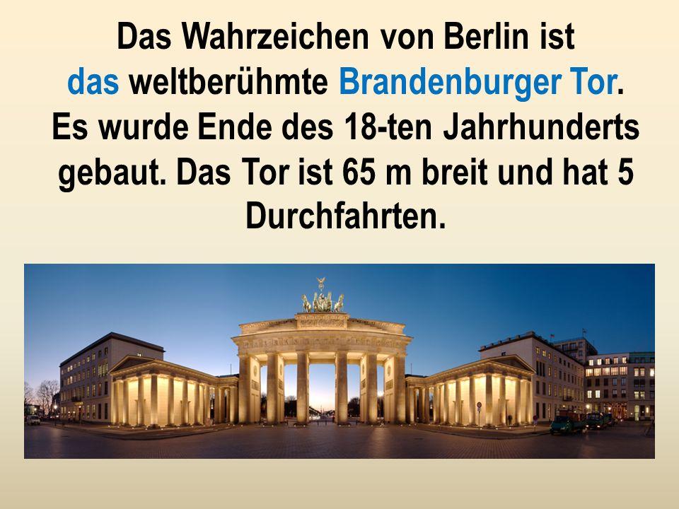 Es gibt viele Museen in Berlin. Sie befinden sich auf der Museumsinsel. Das sind 5 Museen, in denen viele Kulturschätze der Welt ausgestellt sind.