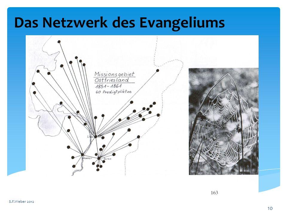 Das Netzwerk des Evangeliums S.F.Weber 2012 10