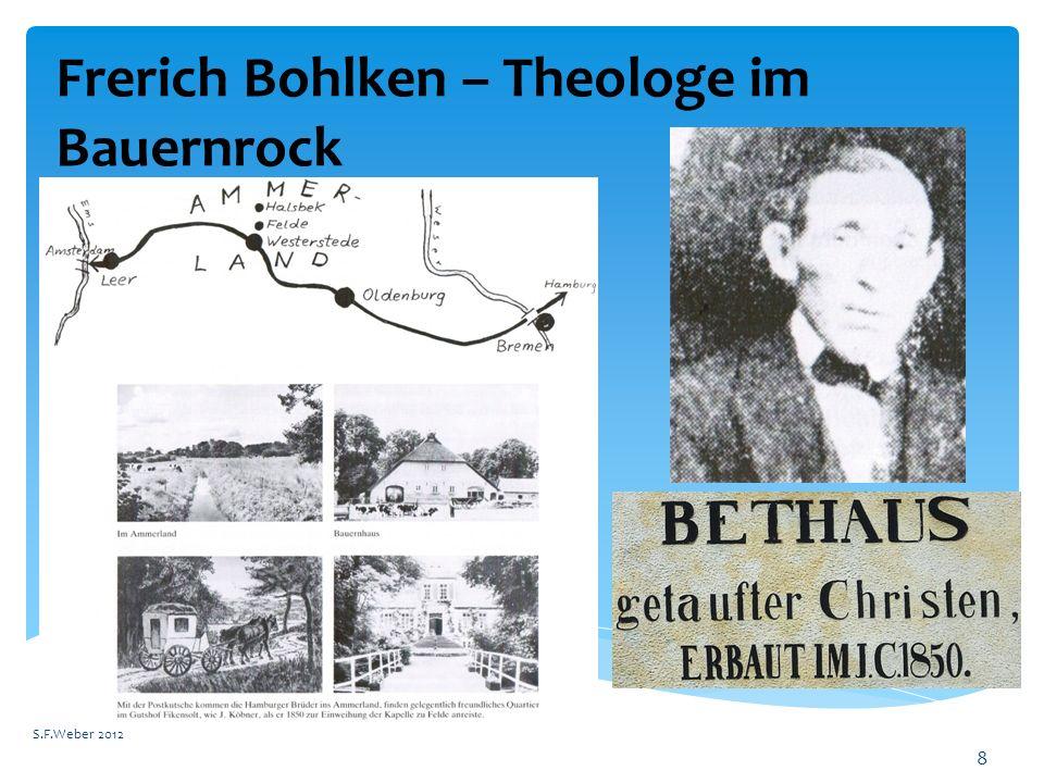 Frerich Bohlken – Theologe im Bauernrock S.F.Weber 2012 8