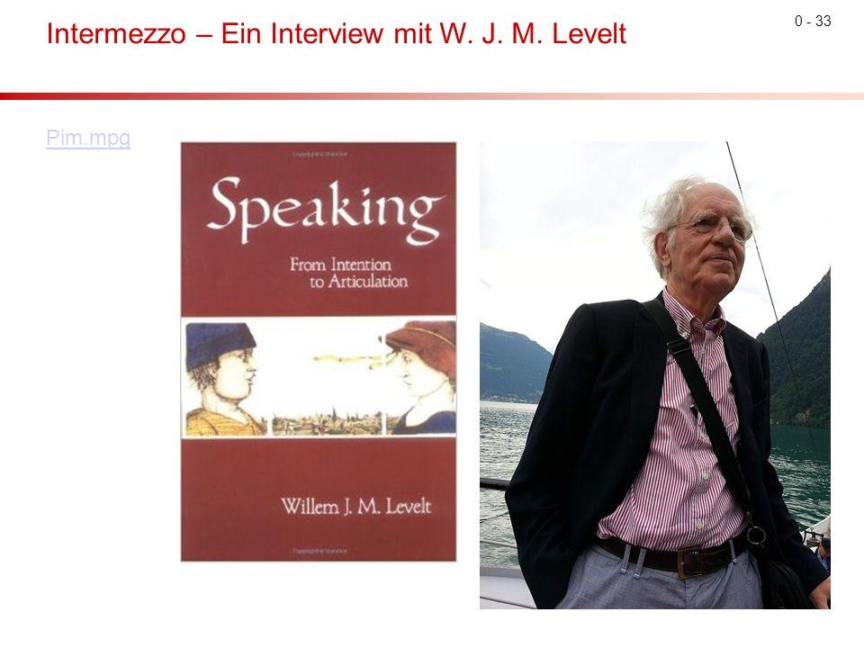0 - 33 Intermezzo – Ein Interview mit W. J. M. Levelt Pim.mpg