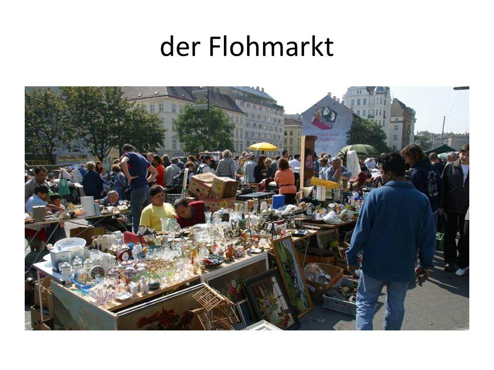 der Flohmarkt