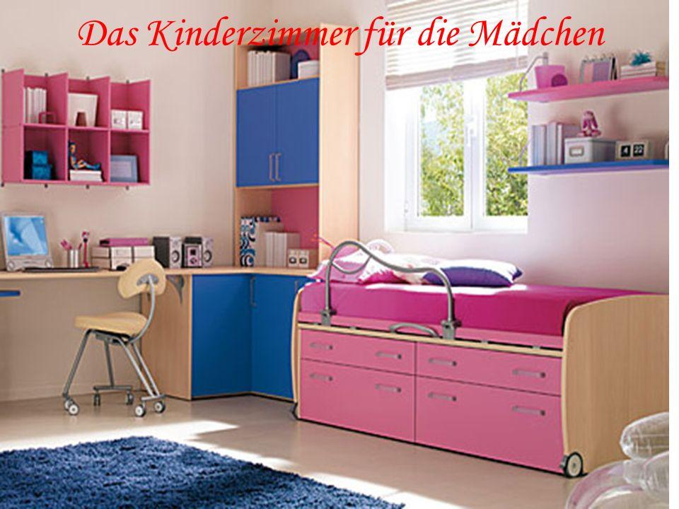 Das Kinderzimmer für die Mädchen
