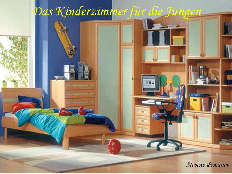 Das Kinderzimmer für die Jungen