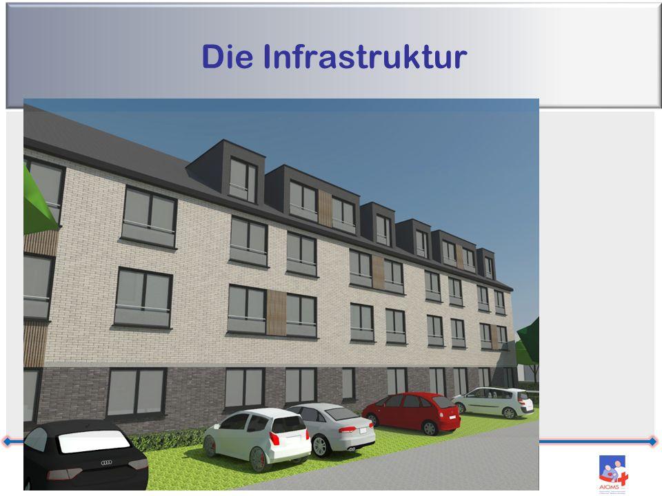 Die Infrastruktur Residenz Leoni – Kelmis – M. Strougmayer – 04/07/2016 11