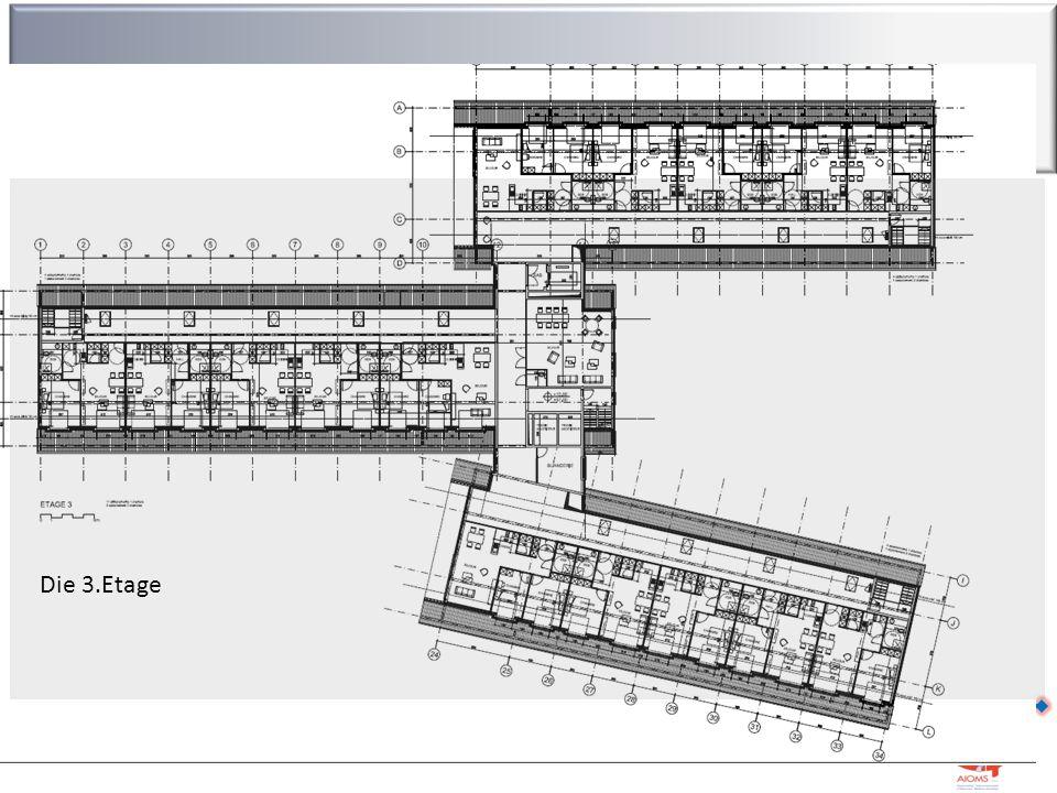 Die Infrastruktur Residenz Leoni – Kelmis – M. Strougmayer – 04/07/2016 21 Die 3.Etage