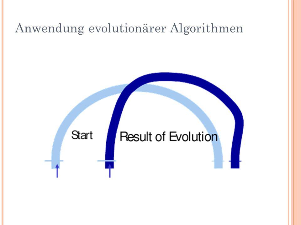 Anwendung evolutionärer Algorithmen