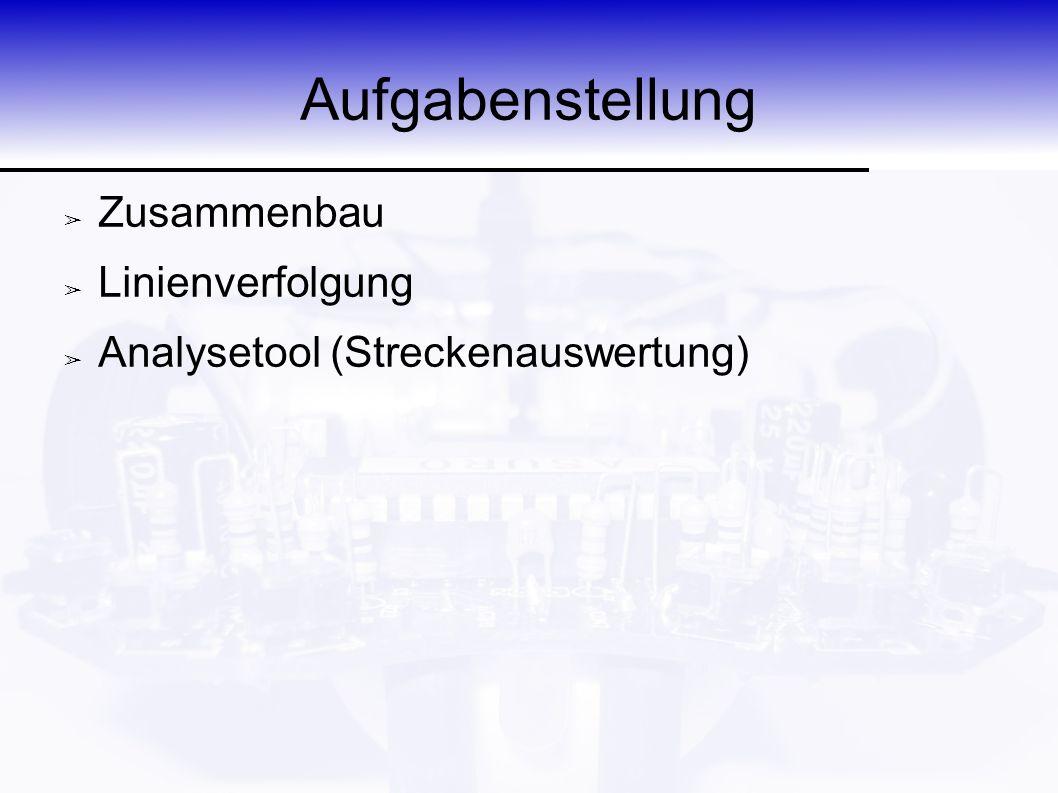 Einleitung ➢ Entwickler des ASURO: DLR ➢ Another Small and Unique Robot from Oberpfaffenhofen ➢ Programmiersprache: C ➢ Ausstattung: ➢ 2 Räder ➢ 2 Motoren ➢ 3.