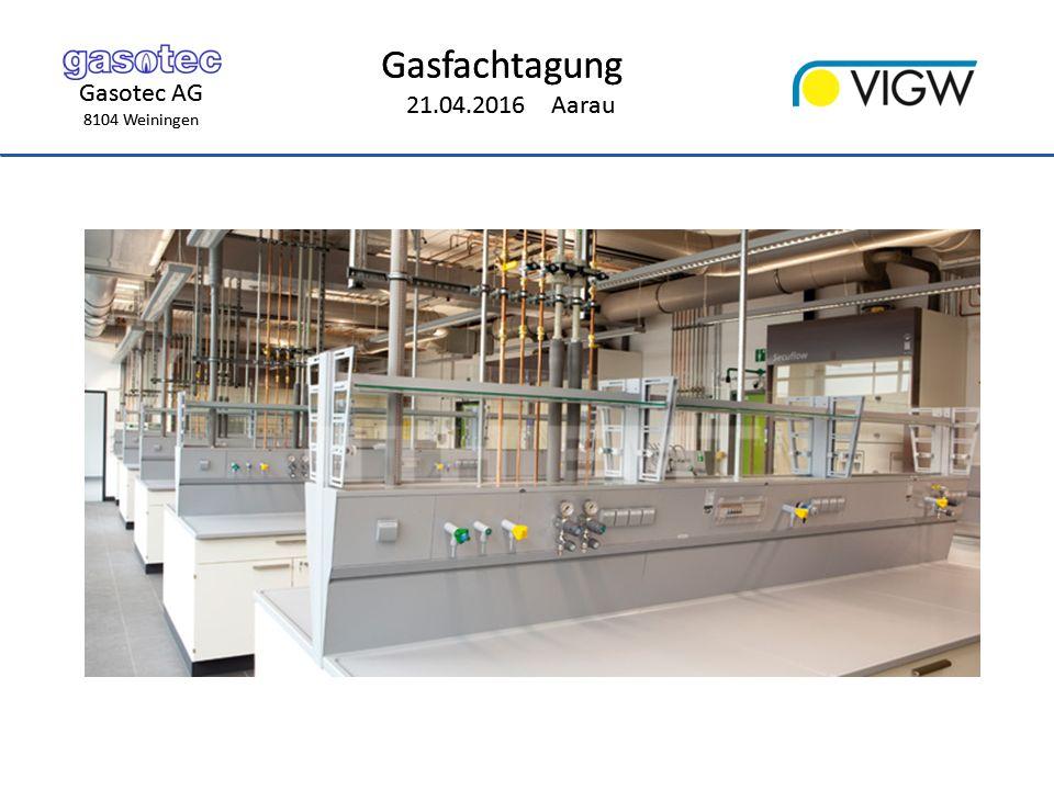 Gasotec AG 8104 Weiningen Gasfachtagung 21.04.2016 Aarau Gasotec AG 8104 Weiningen Gasfachtagung 21.04.2016 Aarau Schema VALE