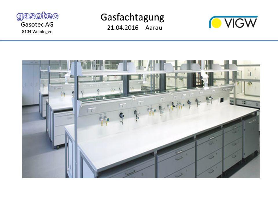 Gasotec AG 8104 Weiningen Gasfachtagung 21.04.2016 Aarau Gasotec AG 8104 Weiningen Gasfachtagung 21.04.2016 Aarau Anwendungen System VALE