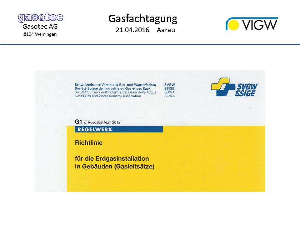 Gasotec AG 8104 Weiningen Gasfachtagung 21.04.2016 Aarau Gasotec AG 8104 Weiningen Gasfachtagung 21.04.2016 Aarau Aufbau VALE Magnetventil VAS By-Pass-Ventil VBY