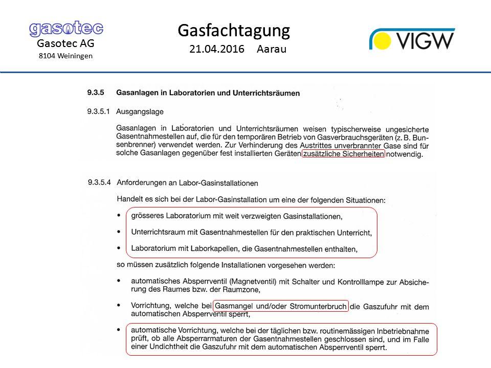 Gasotec AG 8104 Weiningen Gasfachtagung 21.04.2016 Aarau Gasotec AG 8104 Weiningen Gasfachtagung 21.04.2016 Aarau Aufbau VALE Magnetventil VAS By-Pass-Ventil VBY Druckwächter DG