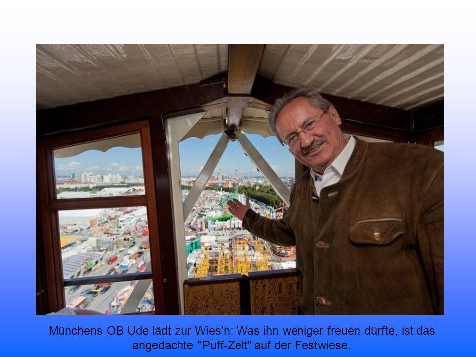 Münchens Oberbürgermeister Christian Ude