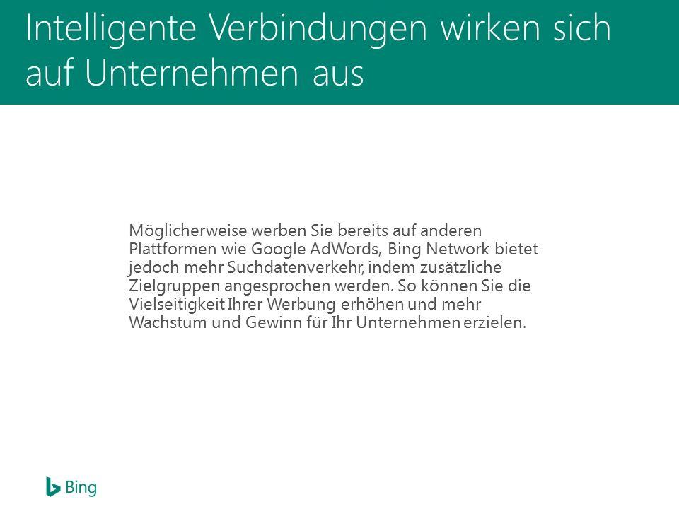 33 % des Suchvolumens auf Bing entsteht durch mobile Abfragen.
