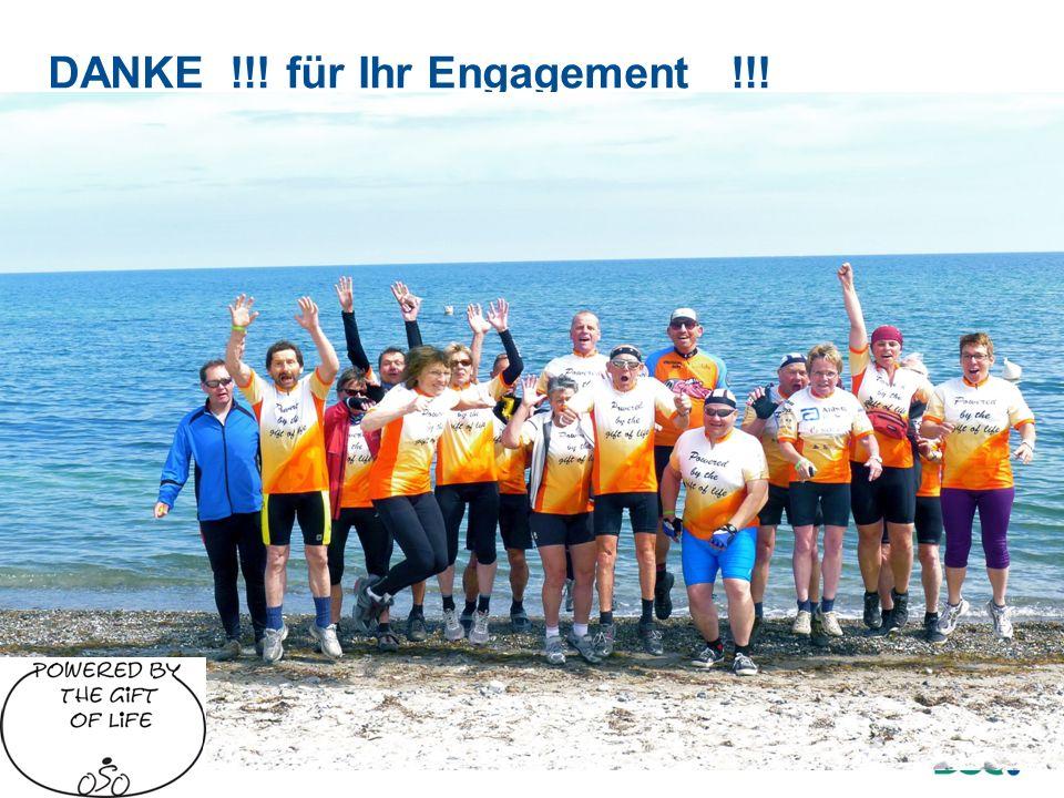 DANKE !!! für Ihr Engagement !!!