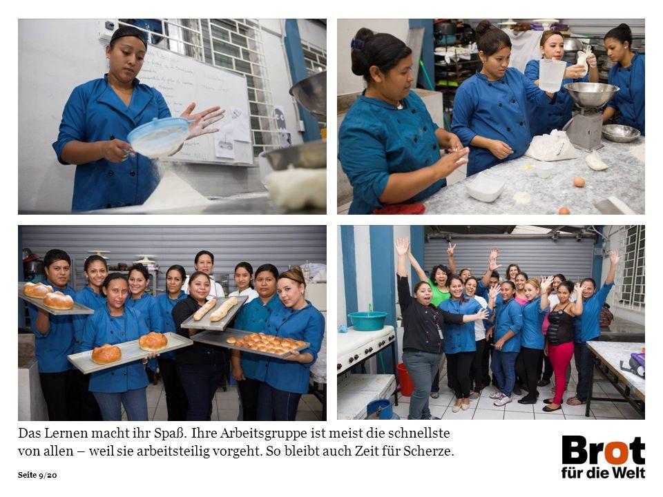 Seite 9/20 Das Lernen macht ihr Spaß.