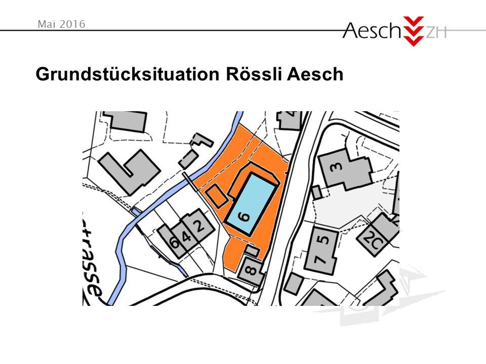 Mai 2016 Grundstücksituation Rössli Aesch