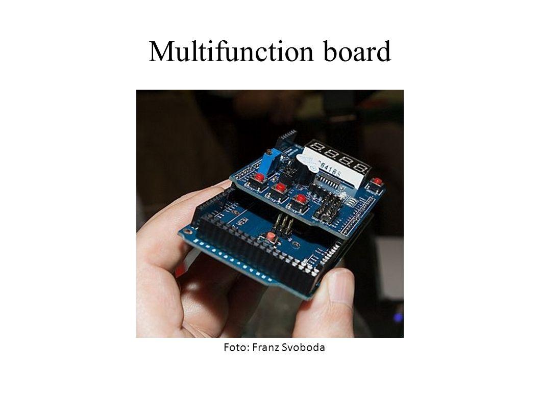 Multifunction board Foto: Franz Svoboda