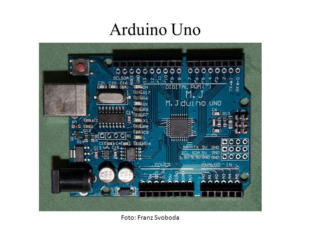 Arduino Uno Foto: Franz Svoboda
