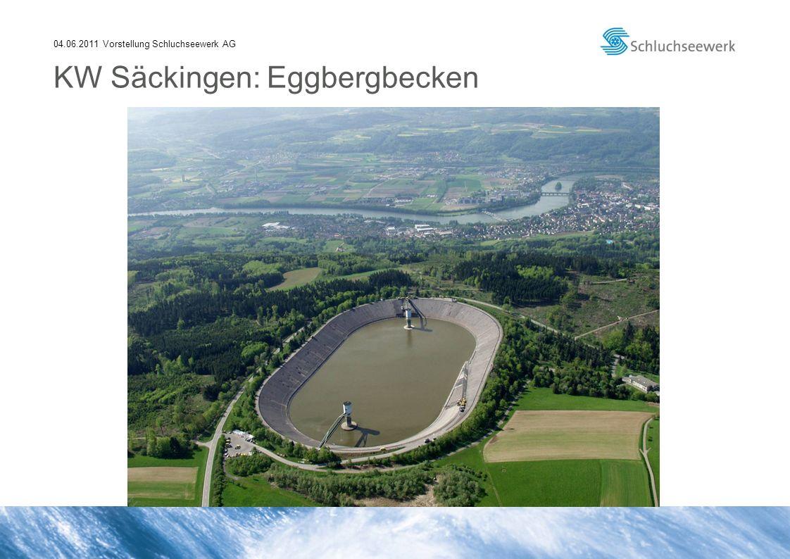 04.06.2011 Vorstellung Schluchseewerk AG KW Säckingen: Eggbergbecken