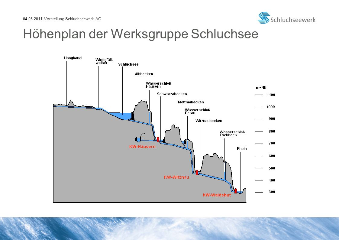 04.06.2011 Vorstellung Schluchseewerk AG Schluchsee