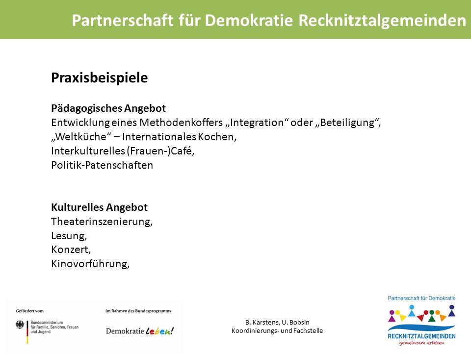 Partnerschaft für Demokratie Recknitztalgemeinden B.