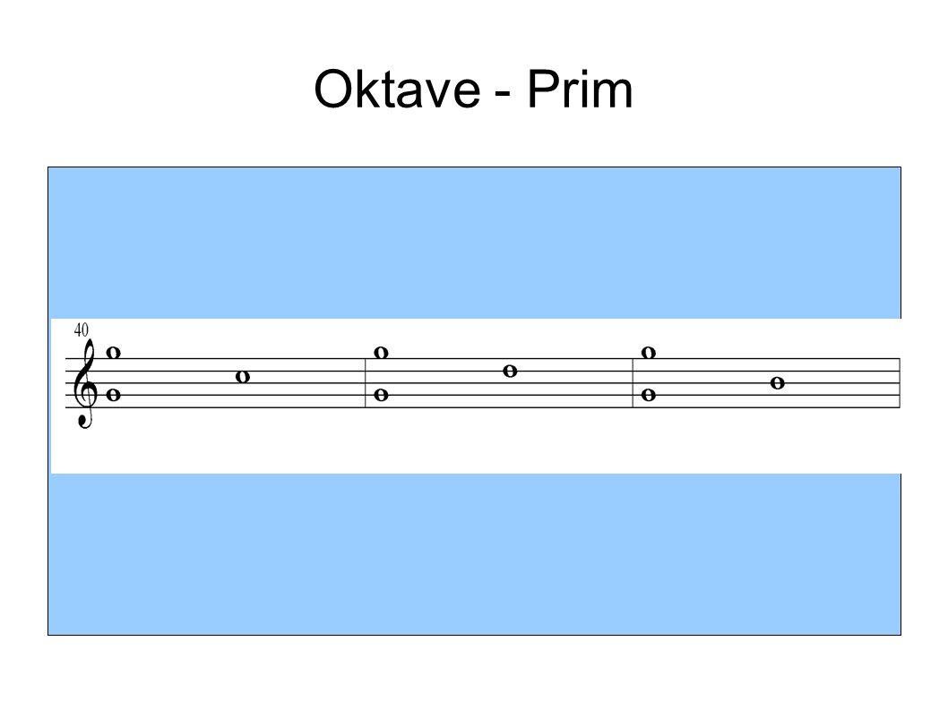 Oktave - Prim