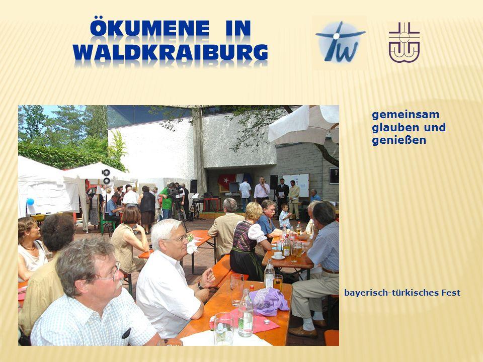 gemeinsam glauben und genießen bayerisch-türkisches Fest