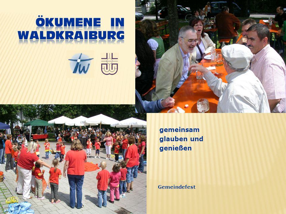 gemeinsam glauben und genießen Gemeindefest