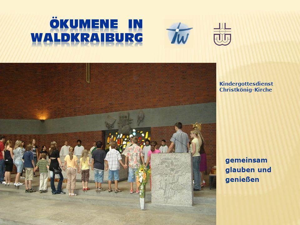 gemeinsam glauben und genießen Kindergottesdienst Christkönig-Kirche