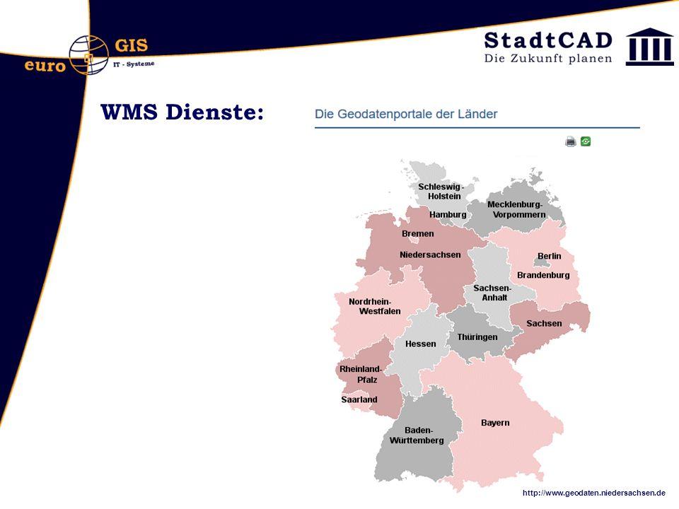 WMS Dienste: http://www.geodaten.niedersachsen.de