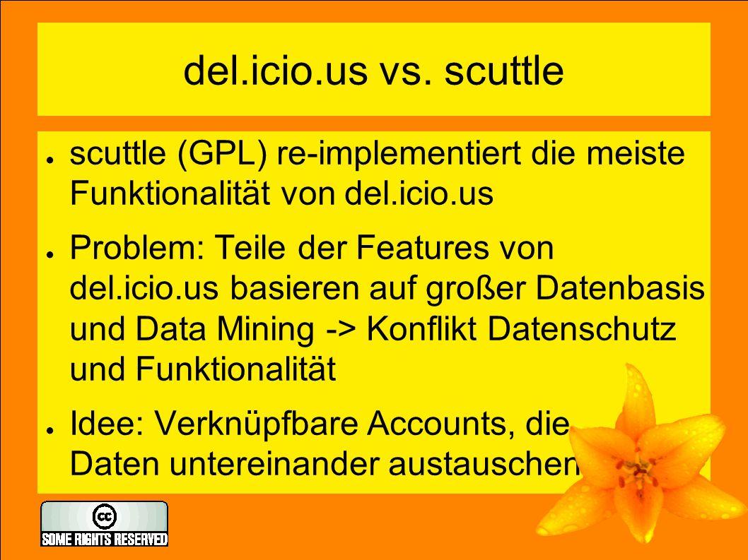 del.icio.us vs.