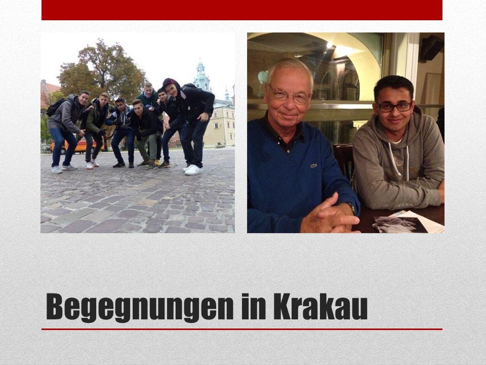 Begegnungen in Krakau