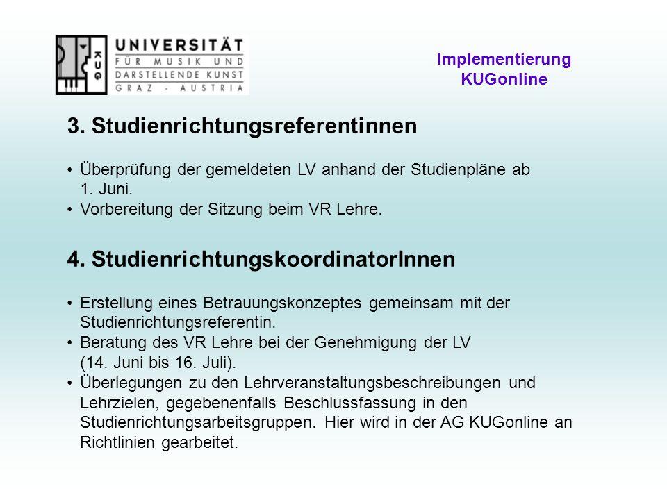 Implementierung KUGonline 3.