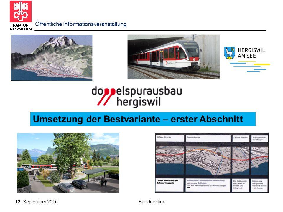 Öffentliche Informationsveranstaltung 12.