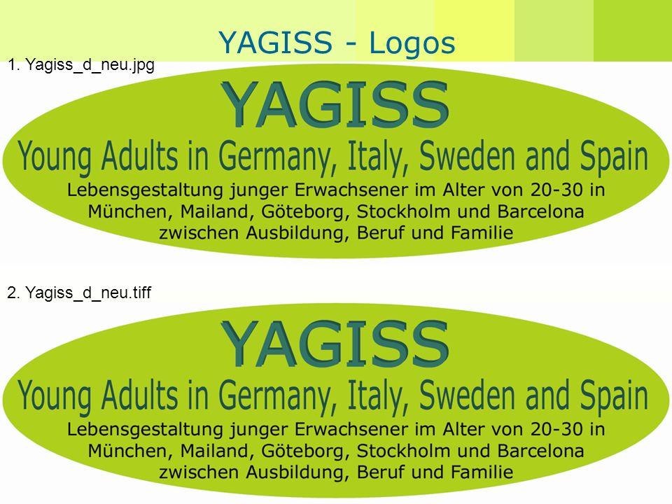 Angelika Guglhör-Rudan YAGISS - Logos 1. Yagiss_d_neu.jpg 2. Yagiss_d_neu.tiff