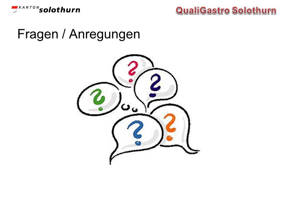 Fragen / Anregungen