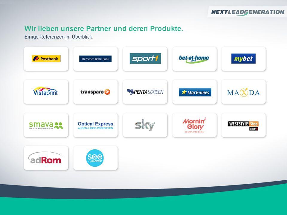 Wir lieben unsere Partner und deren Produkte. Einige Referenzen im Überblick: