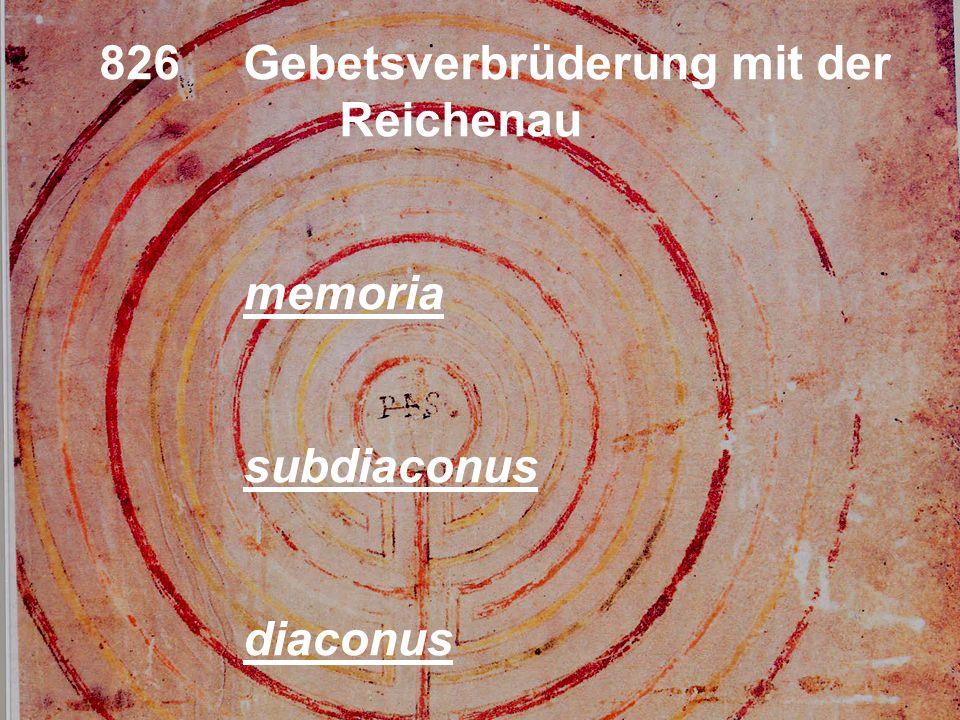 Otfrids Geburtum 800 (?) cuculla aetas rationabilis consilia evangelica Profess super altare prostratio