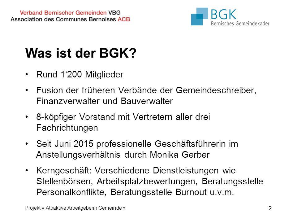 Was ist der BGK.
