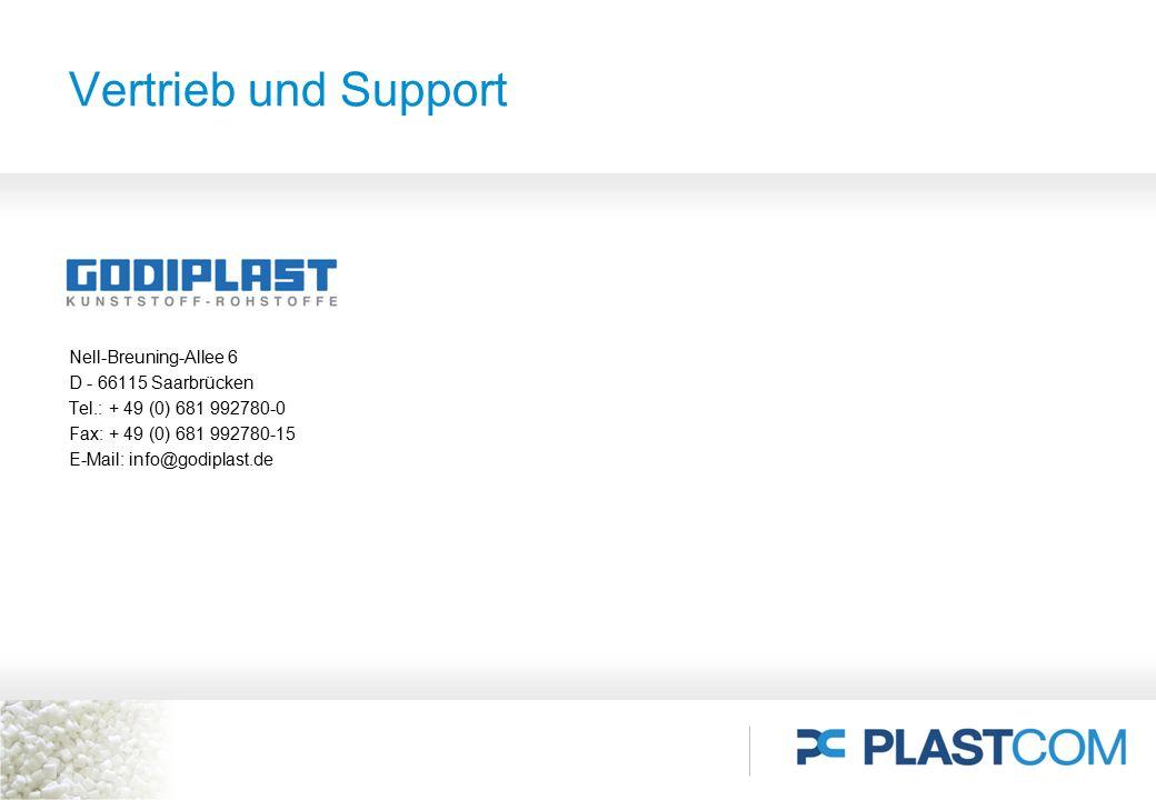 Nell-Breuning-Allee 6 D - 66115 Saarbrücken Tel.: + 49 (0) 681 992780-0 Fax: + 49 (0) 681 992780-15 E-Mail: info@godiplast.de Vertrieb und Support