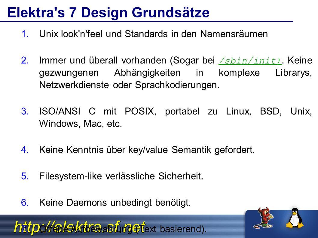 http://elektra.sf.net Using kdb to Edit in Batch Verwende beliebigen Editor um XML zu editieren.