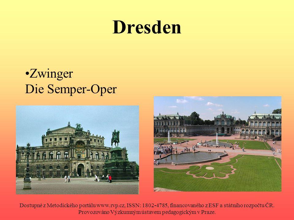 Literatur (Seite 5–9) 14 Autor neznámý: Wikipedia: Dresden, Zwinger [online].