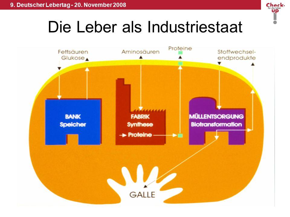 9.Deutscher Lebertag - 20. November 2008 Werden Sie Organspender .