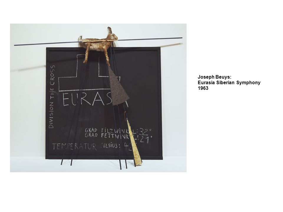 Joseph Beuys: Eurasia Siberian Symphony 1963