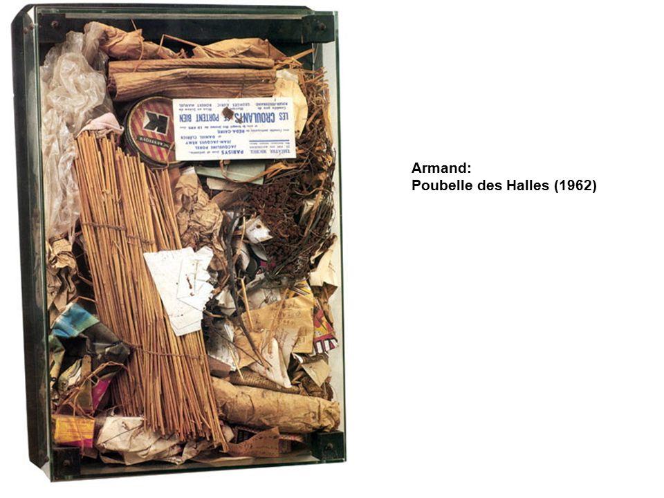 Armand: Poubelle des Halles (1962)