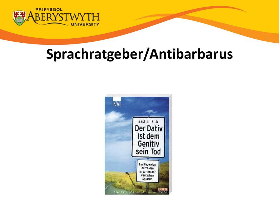 Sprachratgeber/Antibarbarus