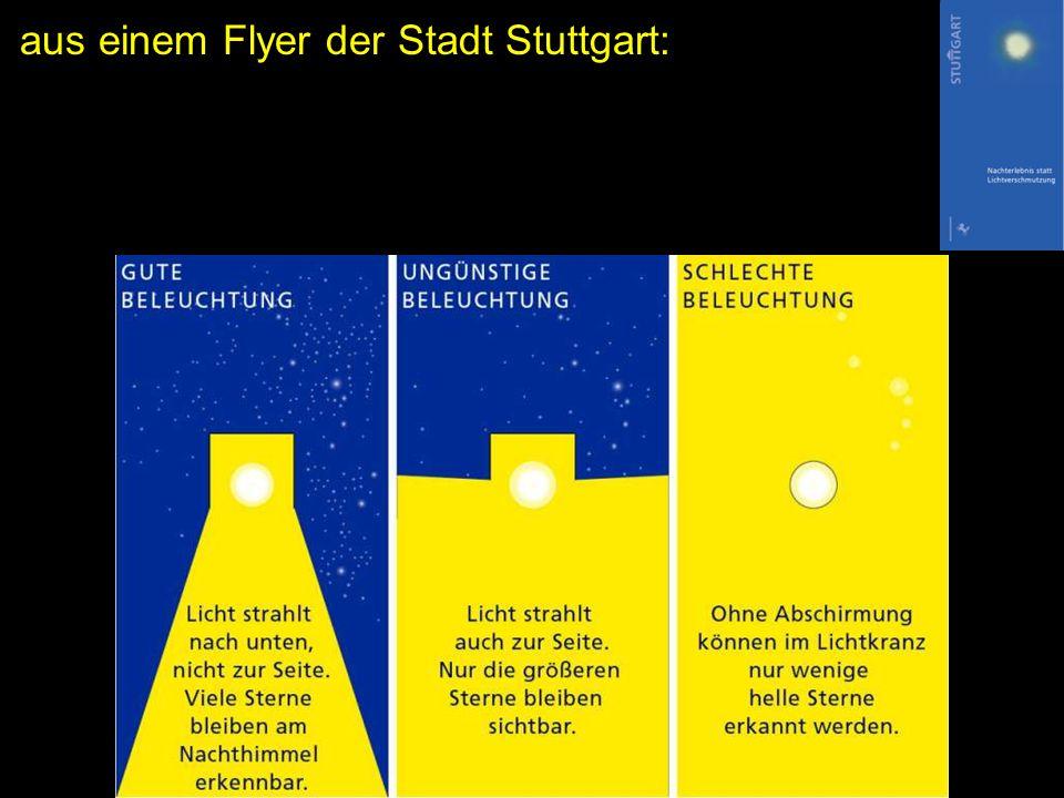 aus einem Flyer der Stadt Stuttgart: