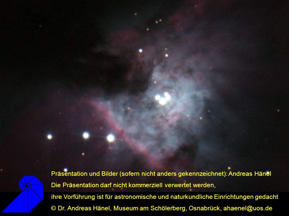 Präsentation und Bilder (sofern nicht anders gekennzeichnet): Andreas Hänel Die Präsentation darf nicht kommerziell verwertet werden, ihre Vorführung ist für astronomische und naturkundliche Einrichtungen gedacht © Dr.