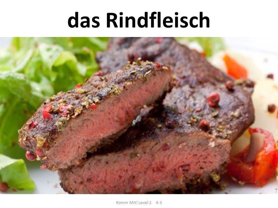 Komm Mit! Level 2 4-3 das Rindfleisch